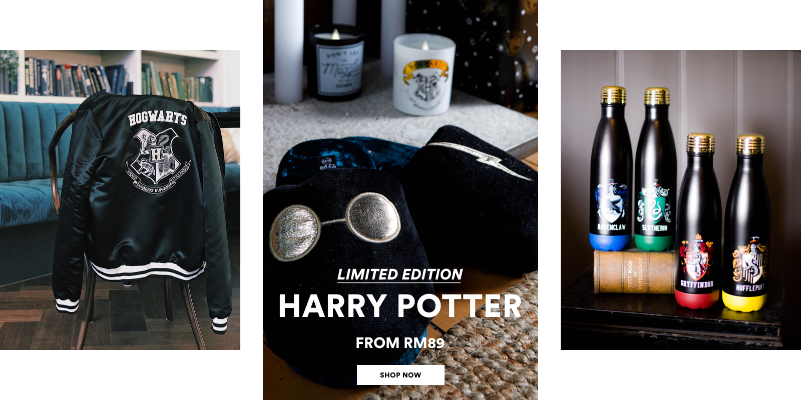 Limited Edition. Harry Potter from RM89. Click to shop.
