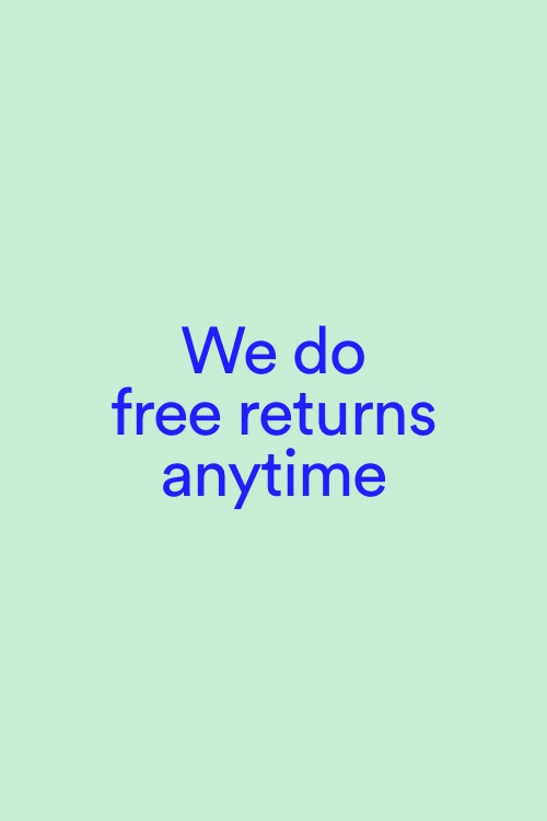 We do returns anytime. Click to Read More.