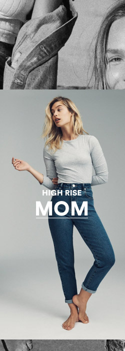 Women's High Rise Mom Jeans