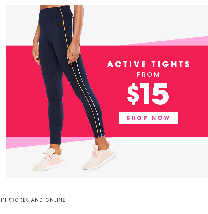Active Tights | From $15