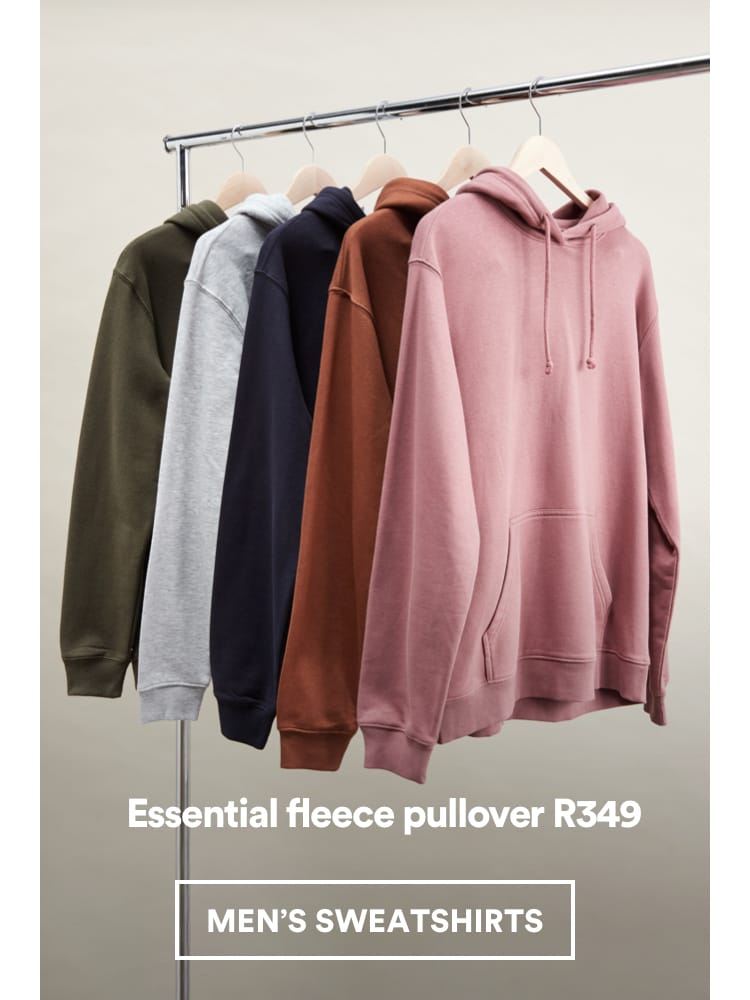 Essential Fleece Pullover. Click to shop.