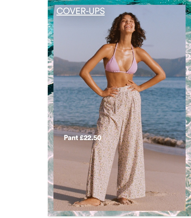 Women's Cover Ups. Click to Shop.