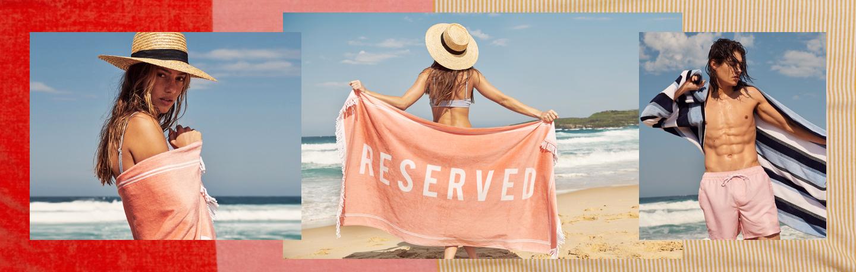 Women's, Men's and Kids Beach Towels