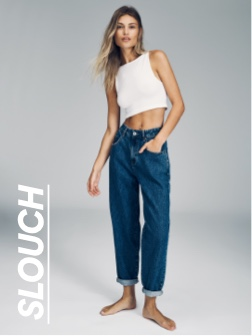 Slouch Jeans. Click to shop.
