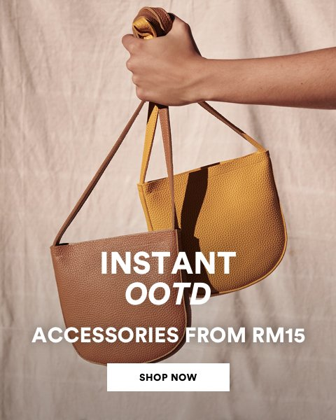 Back to School. Click to Shop the Edit from RM15.
