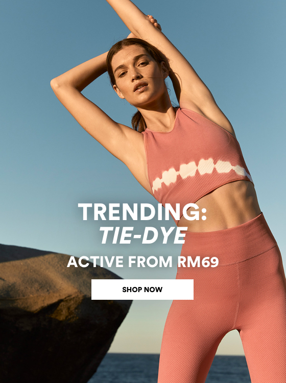 Active, But Make it Fashion from RM69. Click to Shop.