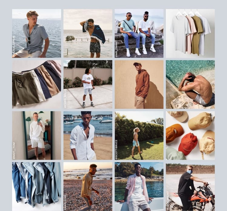 Men's New Arrivals.