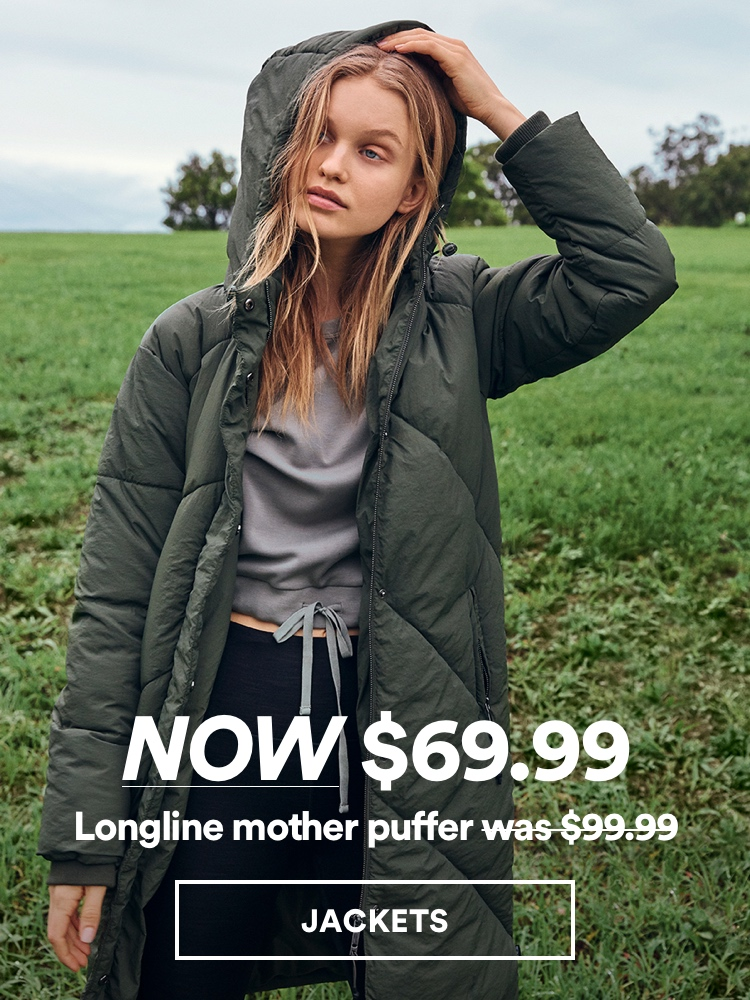 Women's Jackets. Click to shop.
