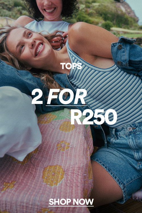 Womens 2 for $20 Tops. Click to shop.