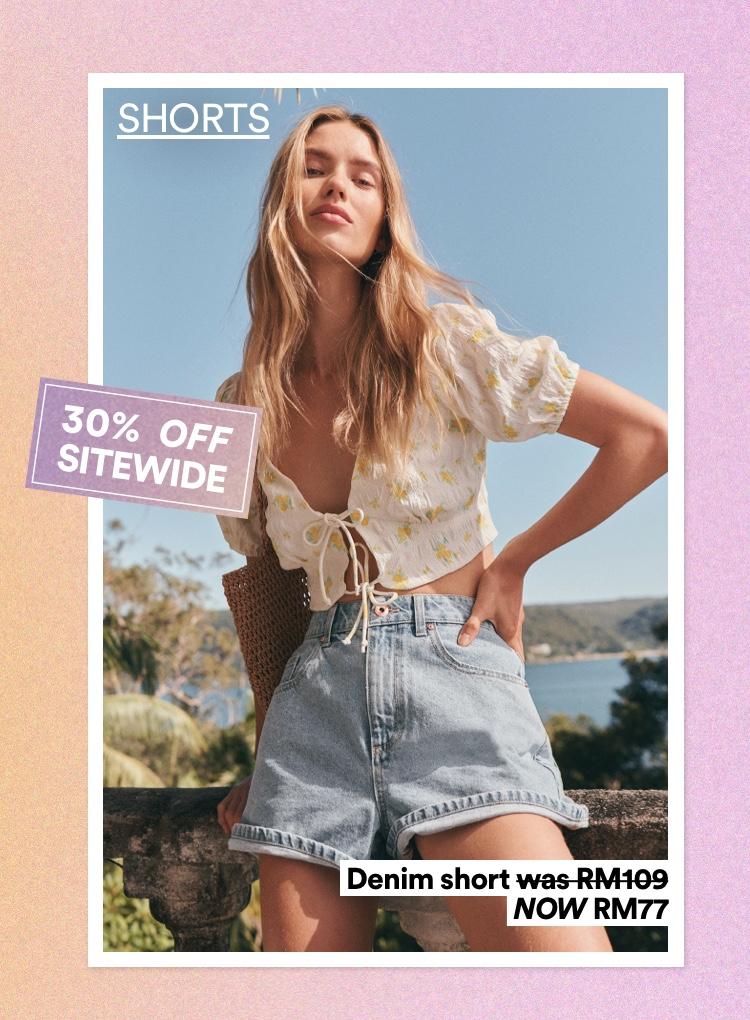 Women's Shorts. Click To Shop