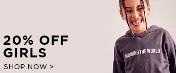 Shop Girls. 20% off