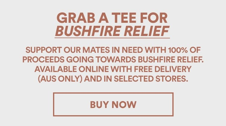 Grab A Tee For Bush Fire Relief