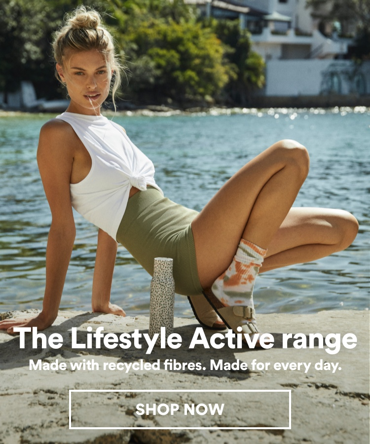 The Lifestyle Active Range. Shop Now