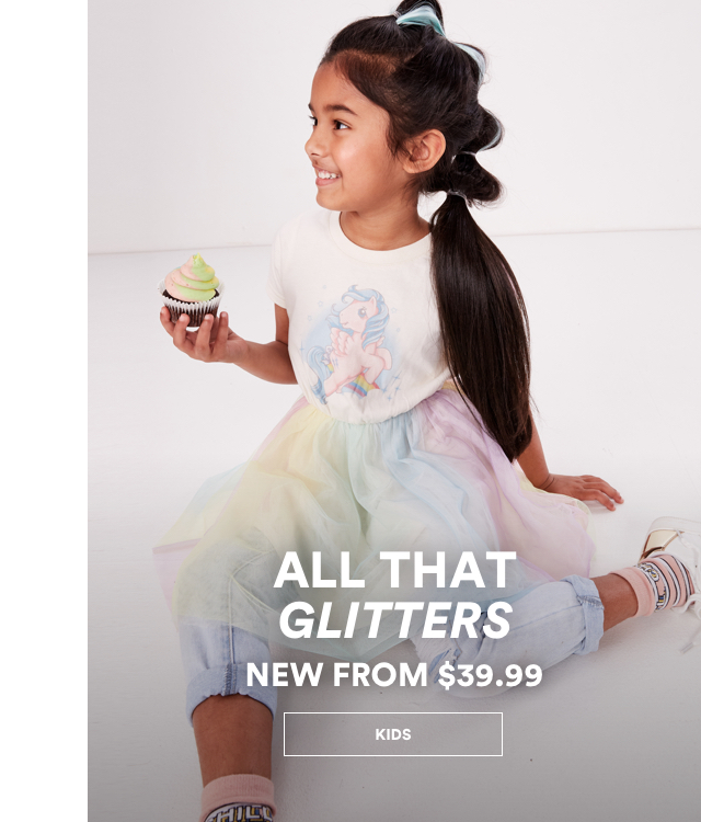 All that glitters. New from $39.99. Click to Shop Kids