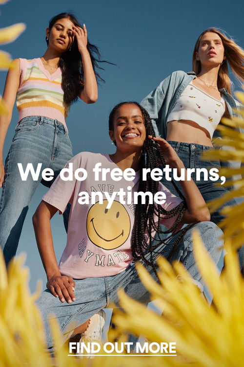 Free Returns. Click to find out more.