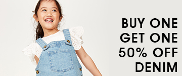 Cotton On Kids BOGO50% Denim