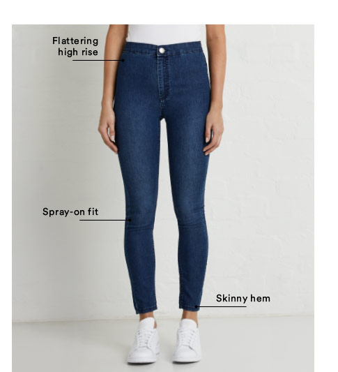 High Rise Rise Jegging