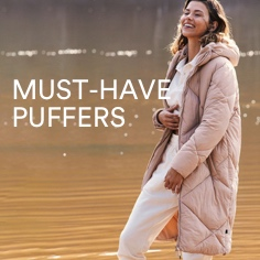 Must Have Puffers. Click to Shop.