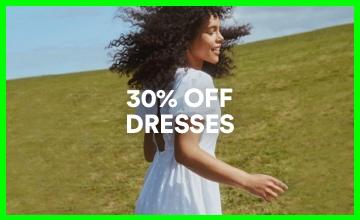 30% off Womens Dresses