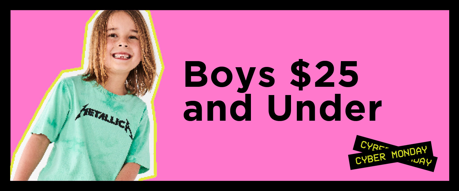 Boys. Shop Now.