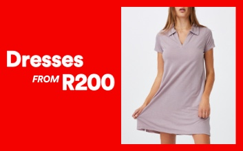 Dresses from R200. Click to shop.