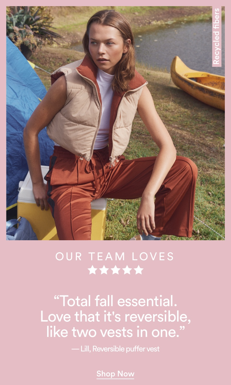 Our Team Loves. Shop now.