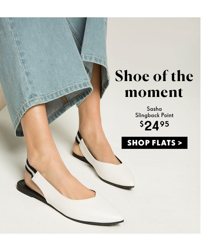 Shoe Of The Moment | Shop Rubi Flats