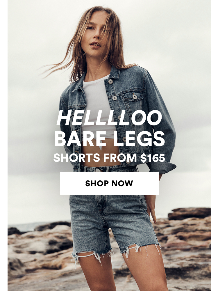 Women's Denim Shorts from $199. Click to Shop Womens