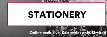 Sale Stationery 50-70% Off. Click to shop.