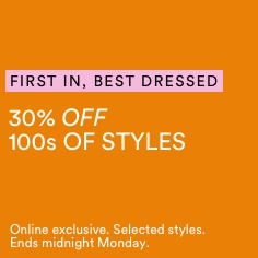 30% Off Selected Styles. Click To Shop