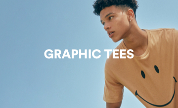 Graphic Tees. Click to Shop.