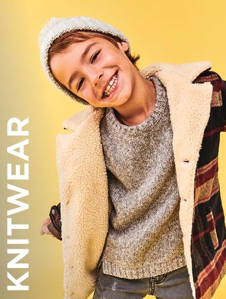 Click to Shop Boys Knitwear