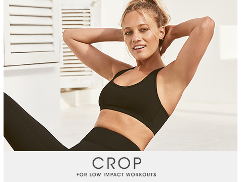 Shop Active Crops For Low Impact Workouts