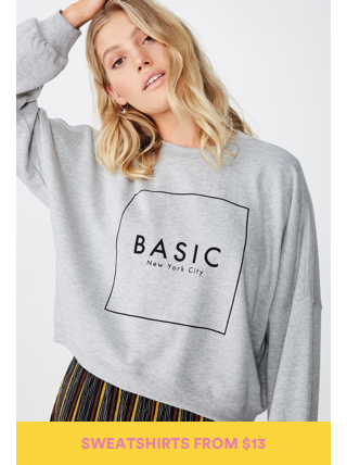 Sale Sweatshirts Click to shop.