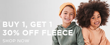 Boys Fleece. Shop Now.