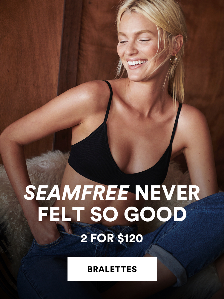 Seamfree Never Felt So Good. Bralettes 2 for $120. Click to Shop.