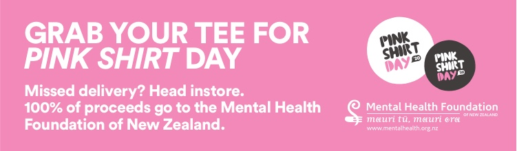 Grab your tee for pink shirt day