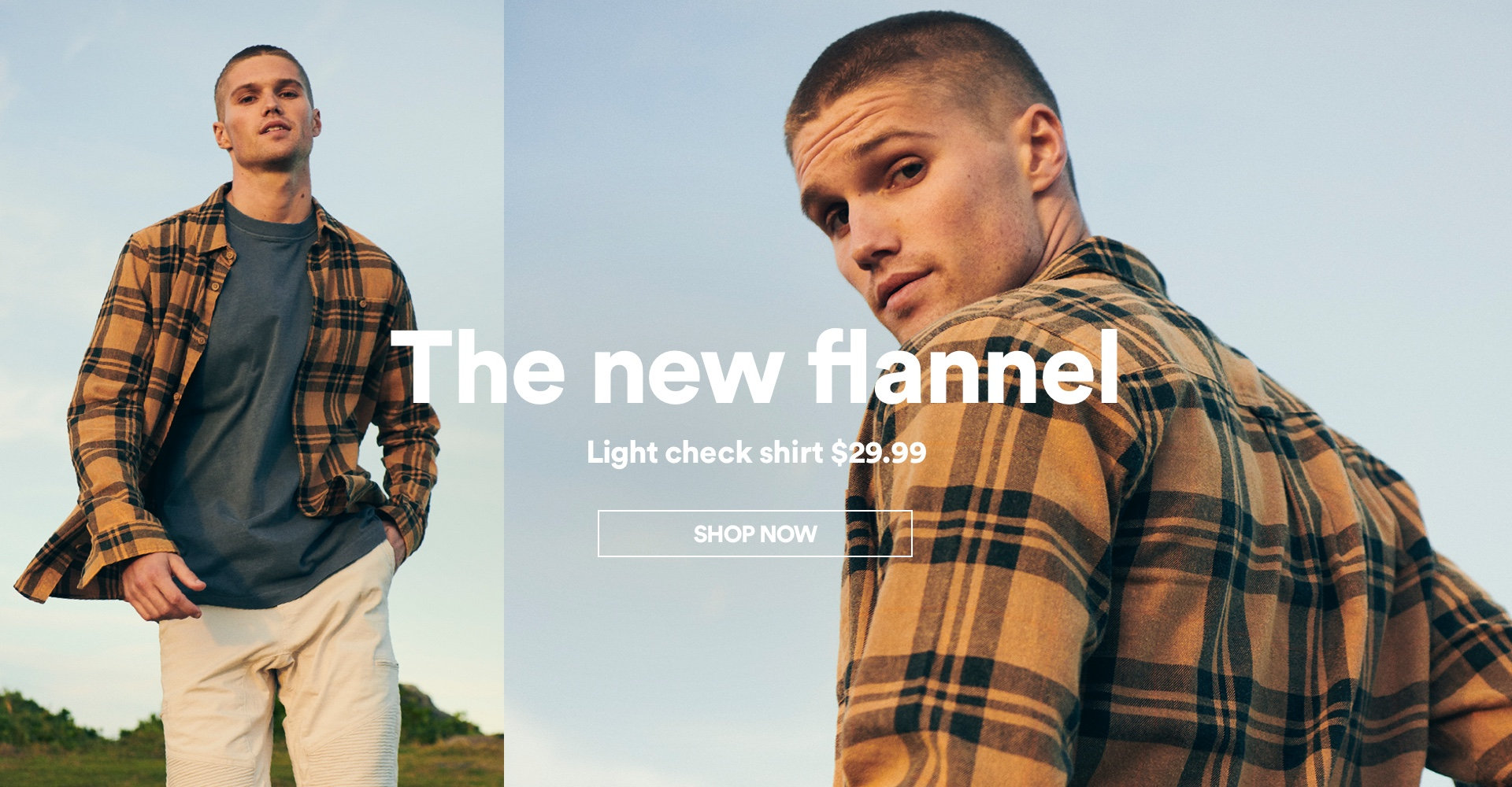 The New Flannel. Shop Now