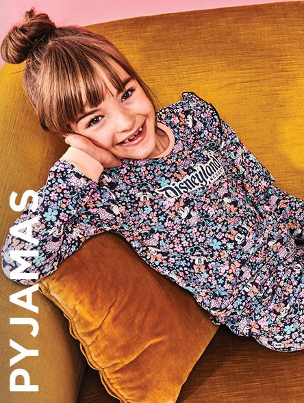 Click to Shop Girls Pyjamas