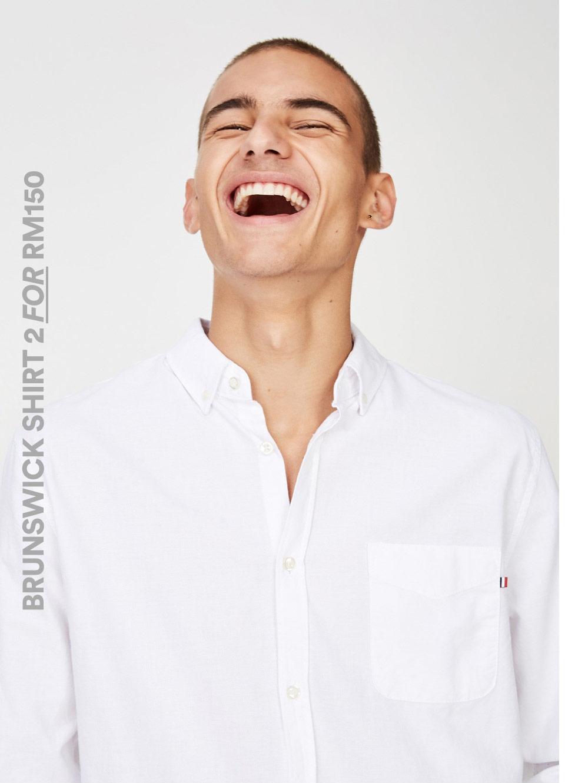 Men's Brunswick Shirt. Click to Shop.
