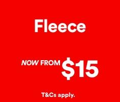 Sale. Fleece. Click to Shop