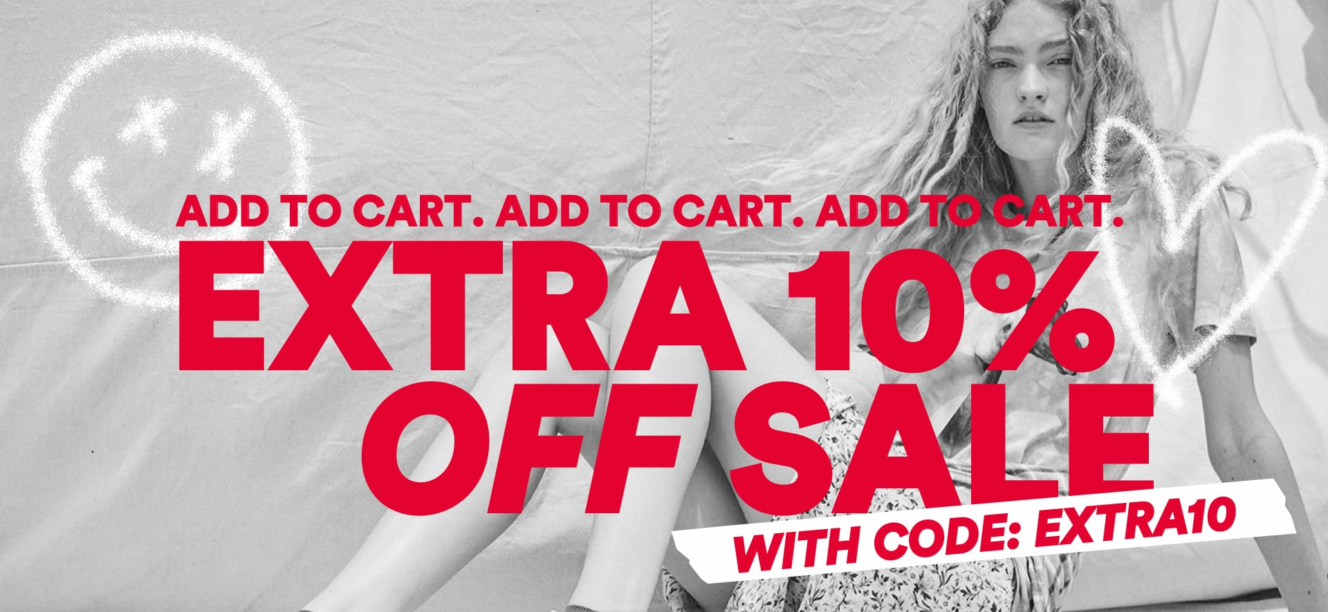 Extra 10% off Sale with code EXTRA10. Click to Shop Women.