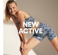 New Activewear. Click to shop.