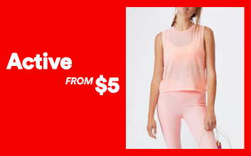 Active From $5. Click to shop.