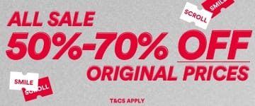 All Sale. 50-70% Off. Shop Now