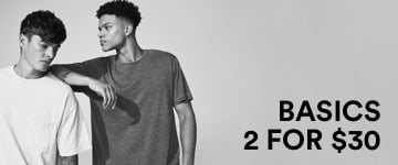 Men's Basic Tees. Click to Shop