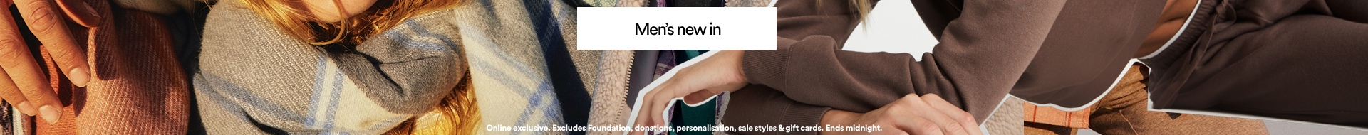 20% Off Sitewide. Click to Shop Men.