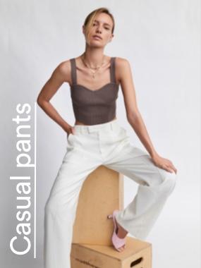 Casual Pants. Click to shop.
