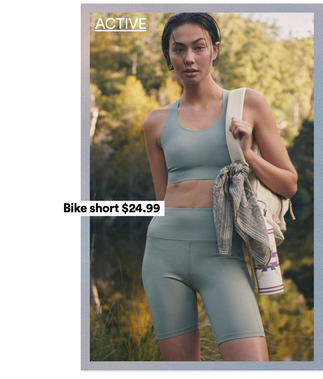 Women's Activewear. Click to Shop.
