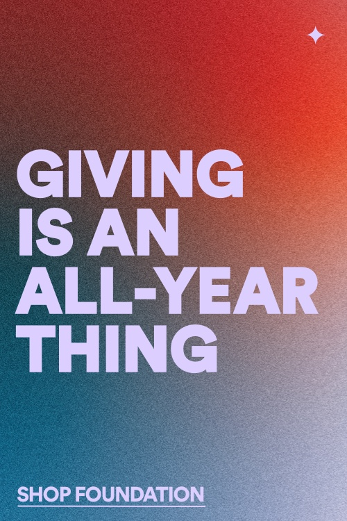 Giving Is An All Year Thing